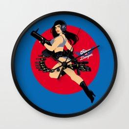 Gipsy Danger pin-up Wall Clock