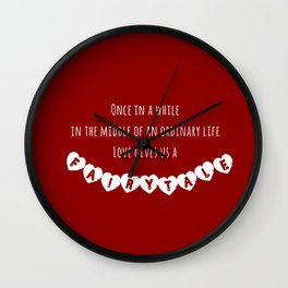 Fairytale Wall Clock