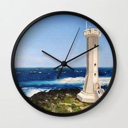 the sea of Jeju-do Wall Clock