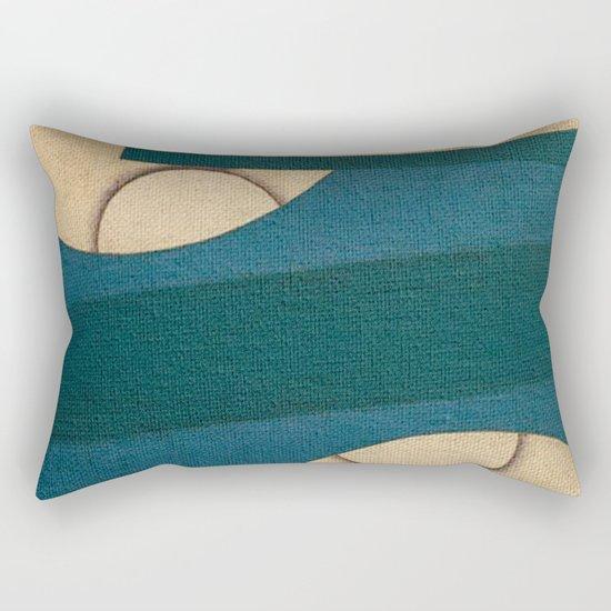 Resting at High Sea Rectangular Pillow