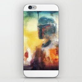 Abstract Boba Fett iPhone Skin