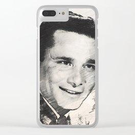 Peter Falk Clear iPhone Case