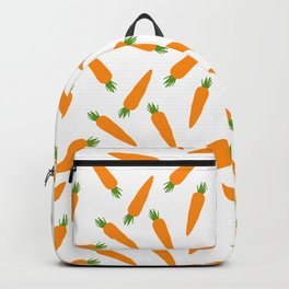 CARROT CARROTS VEGGIE FOOD PATTERN Backpack