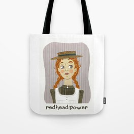 Redhead power - Anne of Green Gables Tote Bag