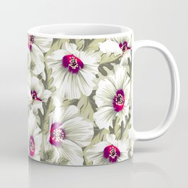 New Zealand Hibiscus Floral Print (Day) Coffee Mug