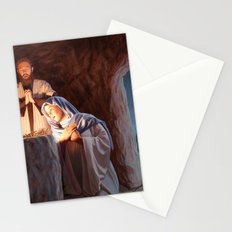 God in a Manger Stationery Cards