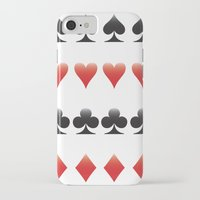 suits iPhone & iPod Cases featuring Suits by doodletome