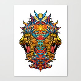 Two Kings Canvas Print