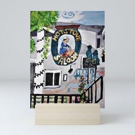 The Hot Stove Saloon Mini Art Print