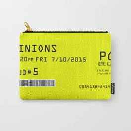 Minion Movie Ticket Carry-All Pouch