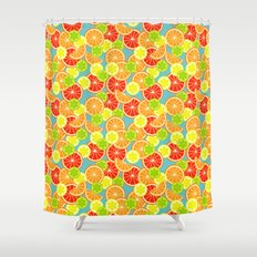 Sweet 'n' Sour  Shower Curtain