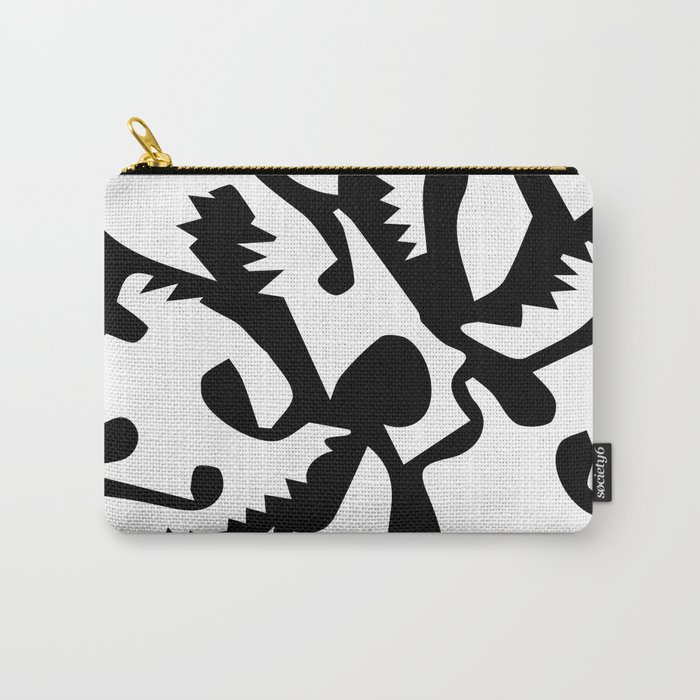 black ghosts Carry-All Pouch