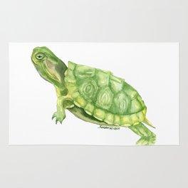 Turtle Watercolor Rug