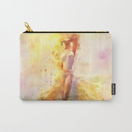 The Girl with the Sun in Her Hair - Eastern Promise Carry-All Pouch