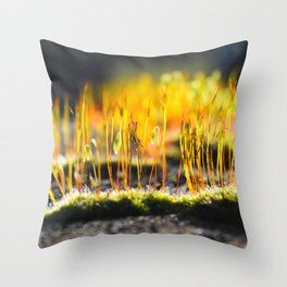 Growing Golden Throw Pillow