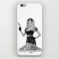 medicine iPhone & iPod Skins featuring Bad medicine by Giampaolo Casarini