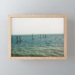 Ombre Sea Framed Mini Art Print