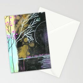 Moon Life Stationery Cards