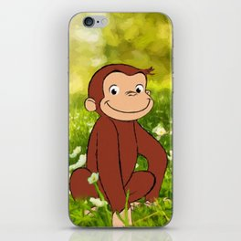 Curious George iPhone Skin