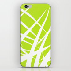 into the wind/green iPhone & iPod Skin
