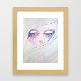 Colorful Darkness Framed Art Print