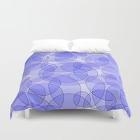 bubbles Duvet Covers featuring Bubbles by Harvey Warwick