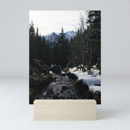 Hiking in the Rockies Mini Art Print
