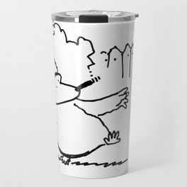 Cigar Ape Passes Through Travel Mug