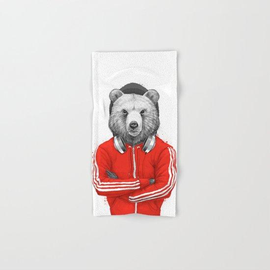 bear coach Hand & Bath Towel
