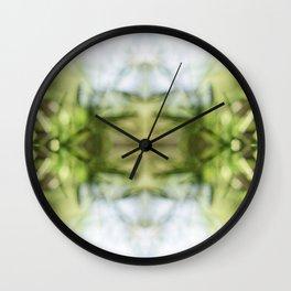 Nature Kaleidoscpe #5 Wall Clock