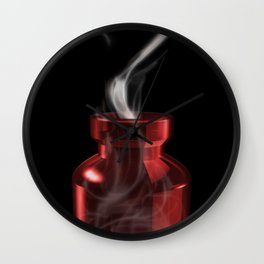 poison love Wall Clock