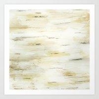 birch Art Prints featuring Birch by Jill Byers