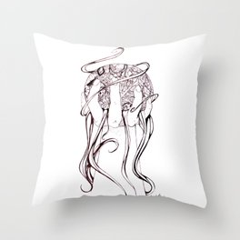 The Orb of Life Throw Pillow