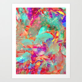 Hot Air for a Cool Breeze Art Print