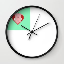 Unicorn Pig with Angelwings Wall Clock