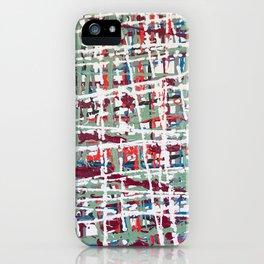 Crisscrossing iPhone Case