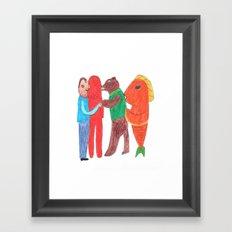 Let's talk about... Framed Art Print