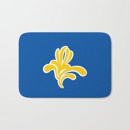 brussels city flag belgium country symbol Bath Mat
