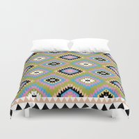 kilim Duvet Covers featuring Modern Kilim by Alisse Courter