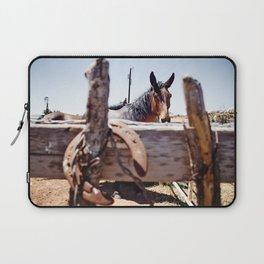 Horsehoe Blur Laptop Sleeve