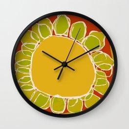 « jardin » Wall Clock