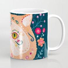 Candied Sugar Skull Kitty Mug