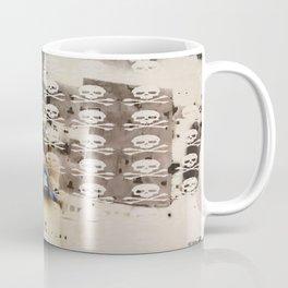 Overhead Skull and XBones: Shadow Burn Coffee Mug