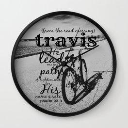 Travis Wall Clock