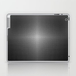 Illuminant polka dot pattern Laptop & iPad Skin