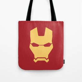 Iron man superhero Tote Bag