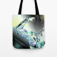 warrior Tote Bags featuring Warrior by sladja