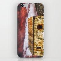 broken iPhone & iPod Skins featuring Broken by SpaceFrogDesigns