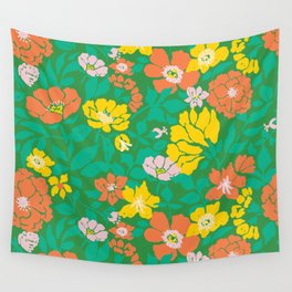 Leaf and Bloom Wall Tapestry