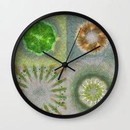 Bashing Image Flower  ID:16165-033432-38660 Wall Clock